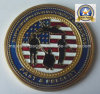 Customized Coin with USA Flag (MJ-Coin-012)