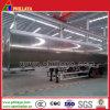 3 Axle 30cbm 35cbm 40cbm 50cbm Aluminum Oil Fuel Tanker Semi Trailer