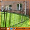 Black Powder Coated Tubular Steel Fence