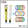 2016 Sek New 3D Pen Stereoscopic 3D Print Pen for Boys Arts