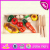2015 Cheap Small Wooden Fruit Toy, Colorful Wooden Cutting Fruit Toy for Children Pretend Play, DIY Funny Wooden Fruit Toy W10b099