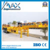 3 Axles 20FT 40FT Skeleton Container Trailer with Container Locks