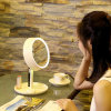 2016 New Arrive 3 in 1 Design LED Lighted Vanity Makeup Mirror with Table Lamp