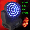 36PCS 15W RGBWA 5in1 Zoom LED Moving Head