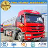 FAW 4 Axles 10 Wheels Heavy Duty Aluminium 25000 L Fuel Tank Truck
