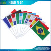 100% Polyester Printing Promotion Hand Stick Flags