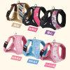 Fashion Cotton Harness Knitting Stripes Printing Pet Leads
