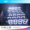 Outdoor White LED Gas Price Sign (Remote Controll/PC controll)