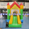 Giant Rainbow Slide PVC Customized/Jungle Theme Slide with Stopper