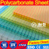 100% Virgin New Material Corrugated for Greenhouse Polycarbonate Sheet