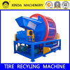 Waste Tire Rubber Crusher Shredder Machine
