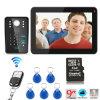 9 Inch Hands Free 4 Wires Color Video Door Phone