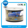 16X Speed/ 4.7GB/120min Media Disc Printable DVD-50pk