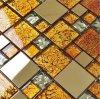 Good Glass Mosaic, Metal Mixed Glass Mosaic Tile