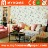 Country Floral Design Wall Paper for Decorative Material