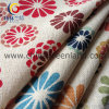 Cotton Linen Printed Woven Fabric for Garment Textile (GLLML073)
