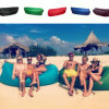 Fast Inflatable Lamzac Hangout Air Sleep Camping Bed Kaisr Beach Sofa Lounge Only Need Ten Seconds Sleeping Bags