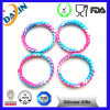 2015 Hot Sale! Rainbow Silicon Bracelets with Customized Printed Log