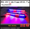 LED Warning Strobe Split Visor Light Bar