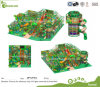 EU Standard Commercial Jungle Theme Kinder Indoor Spielplatz Ausrustung