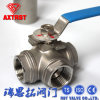3 Way Stainless Steel NPT/BSPT/Bsp Ball Valve