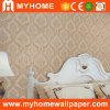 Damask Flower PVC Deep Embossed Wall Paper (MK830106)
