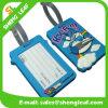 3D Logo Brand PVC Rubber Luggage Tag (SLF-LT042)