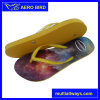 Three Colors Flip Flop with New Printing for Woman