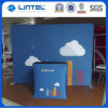8FT Arch-Shape Tension Fabric Backwall with Printed Graphic (LT-24Q1)