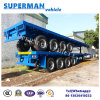 40FT 4 Axle Heavy Duty Cargo Flatbed Transport Trailer