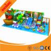 Children Indoor Plastic Playground with Inflatable Castle