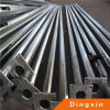 9m Hot Deep Galvanized Metal Pole with ISO CE