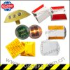 Single Side Bright White Reflector Plastic Road Marking Raivse Stud