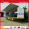 3 Axles 30ton Wing Open Van Curtain Side Semi Trailer