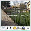 Garden Security System Painted Decorative Cast Aluminum Picket Fence