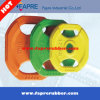 Rubber Grip Olympic Plates with 2-Handle Competition Weight Plate