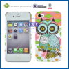 Owl Pattern Hard Mobile Phone Cover for iPhone4 4s