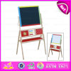Hot New Product for 2015 Wooden Easel for Kids, Educational Toy Painting Easel for Children, High Quality Wooden Easel Toy W12b012