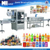 Apple Juice Bottle Labeling Machine with Heating Oven