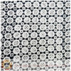 Fashional Cotton Guipure Lace Fabric with Wave Point Pattern (M0513)