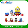 Cartoon Super Heros Minions USB 2.0 Flash Memory Stick