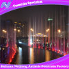 Running Dancing Music Fountain with Colorful Lighting Outdoor