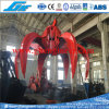 8cbm Electrical Hydraulic Orange Peel Grab Bucket
