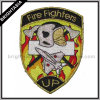 Fire Fighter Metallic Golden Embroidery Patch (BYH-11096)