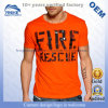 Personalized Artwork Printed High Quality Men's Short Sleeve Round Neck Soft Cotton T-Shirts