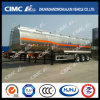 Cimc Huajun 3axle Oval Type Aluminium Alloy Fuel/Oil/LPG/Gasoline Tanker