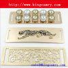 Metal Mirror Surface Belt Lady′s Decoration Elastic Belt Metal Waist Chain