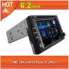 Hot 6.2inch One DIN Universal Car DVD GPS Navigation Multimedia Player