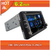 Hot 6.2inch One DIN Universal Car DVD GPS Navigation Multimedia Player