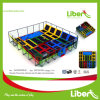 Professional Gymnastic Olymppic Trampoline Park with Ball Hoops